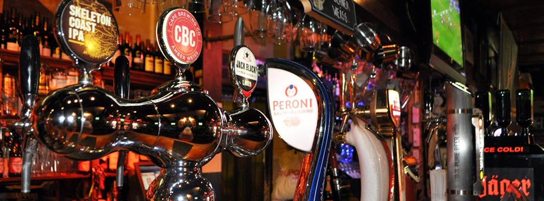 Beer on Tap at Fireman's Arms