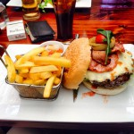 Burger at Fireman's Arms