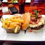 Burger at Fireman's Arms